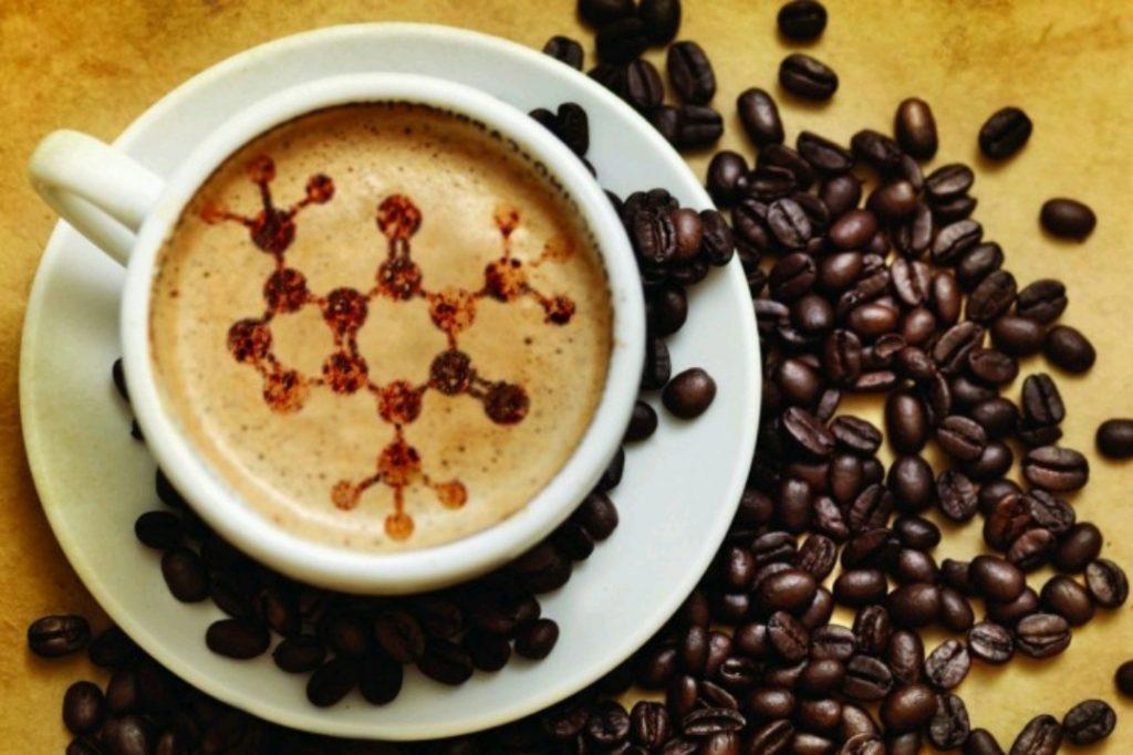 ترکیبات شیمیایی در قهوه